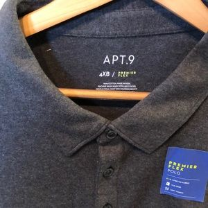 Apt 9 Men's Polo Shirt 4XB NEW